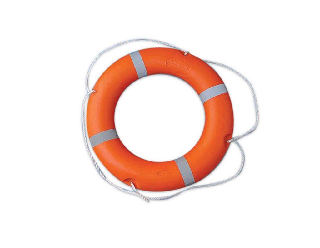 Phao bơi cứu hộ Hàn Quốc cao cấp nhựa có phản quang