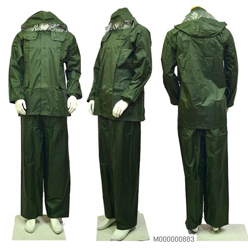 Quần áo mưa hàn quốc bộ rời xanh bộ đội ( Nam & Nữ)