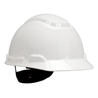 Mũ bảo hộ lao động 3M màu trắng có khóa vặn