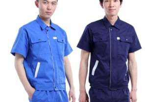 May quần áo bảo hộ lao động đẹp vải Hàn Quốc – Mẫu HK-19