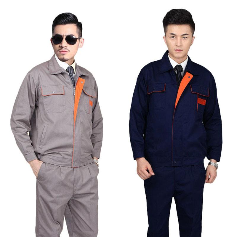 Quần áo bảo hộ may đẹp vải Hàn Quốc – Mẫu HK-09