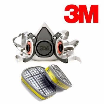 Bán mặt nạ phòng độc 3M-6100 của Mỹ sử dụng 2 phin lọc