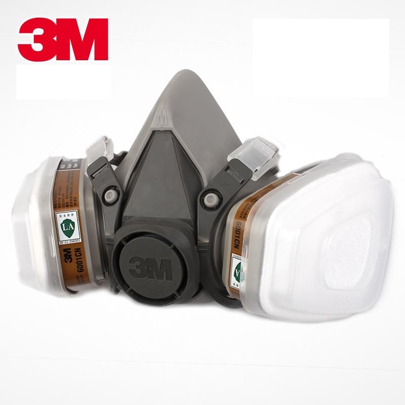 Bán mặt nạ phòng độc 3M6200 của Mỹ sử dụng 2 phin lọc