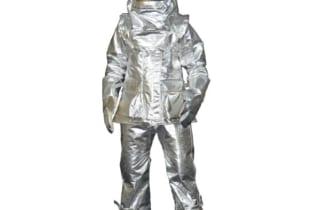 Quần áo chống cháy tráng nhôm chịu nhiệt 1500 độ C