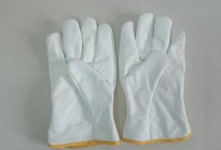 Găng tay da thợ hàn chịu nhiệt cao