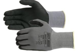 Bán găng tay JOGGER Prosoft phủ nhựa lòng màu ghi chì