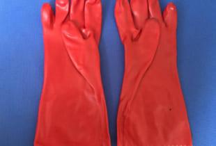 Găng tay cao su Hàn Quốc X3-112R chống axit