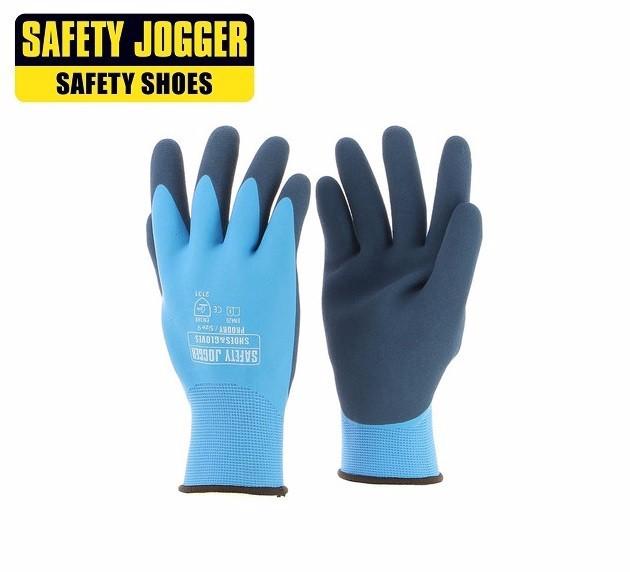 Găng tay JOGGER Prodry phủ nhựa nhám trống trơn