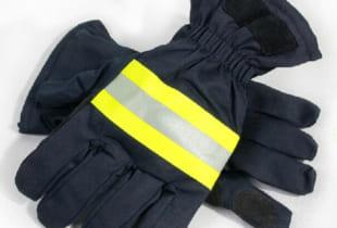 Găng tay chống cháy Nomex chịu nhiệt 700 độ C.
