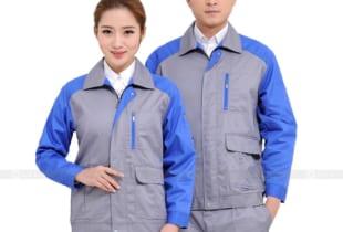 Quần áo bảo hộ đẹp vải Pangrim Hàn Quốc – Mẫu HK-05