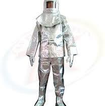 Quần áo chống cháy tráng nhôm chịu nhiệt 300 độ C