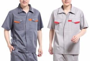Quần áo bảo hộ lao động may đẹp vải Hàn Quốc – Mẫu HK-21