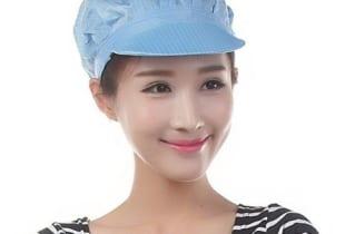 Mũ bao tóc nữ vải lưới có lưỡi trai