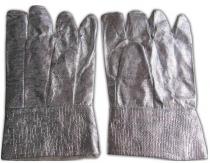 Găng tay chống cháy tráng nhôm chịu nhiệt 1000 độ C dài 25cm