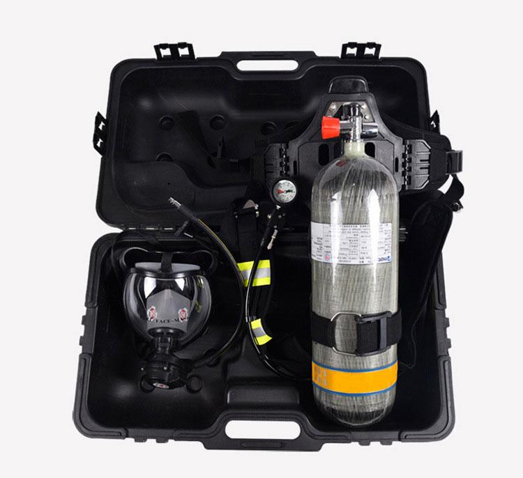 Bình thở dưỡng khí OXY 6.8lit vỏ carbon china