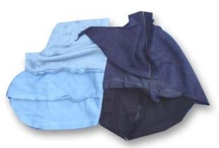 Giẻ lau công nghiệp vải màu cotton khổ (15×20)cm