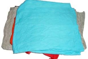 Giẻ lau công nghiệp vải màu cotton khổ (15×25)cm