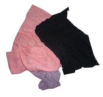Giẻ lau công nghiệp vải màu cotton khổ (20×35)cm.