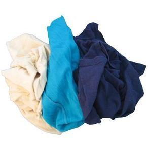 Giẻ lau công nghiệp vải màu cotton khổ (7×10)cm