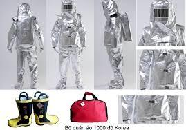 Bán quần áo chống cháy Hàn Quốc KTFS1000 độ C